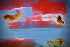 Abstract (StephenReed) Tags: abstract art metal rust paint nikond3300 stephenreed abstractart