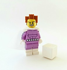 Captain Cube (LoH) (slight.of.brick) Tags: lego minifig superhero supervillain loh