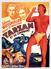 Tarzan and His Mate (1934, USA) - 07 (kocojim) Tags: publishing illustrated kocojim poster johnnyweissmuller maureenosullivan film advertising illustration motionpicture movieposter movie