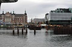 Copenhagen - Pedestrian/Bicycle Bridge Construction (Vester Voldgate / BLOX) (Azchael) Tags: denmark dänemark europa europe copenhagen location:city=copenhagen location:country=denmark construction bridgeconstruction