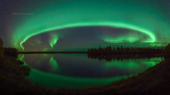Autumn Auroras (M.T.L Photography) Tags: autumnauroras auroraborealis northernlights nightscape stars sky night water trees mtlphotography mikkoleinonencom nikond810 auroraphotography