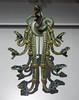 """Ornament de corsage """"Serpents"""" - René Lalique, 1898-9 (Monceau) Tags: muséedartmoderne medusabijouxettabous serpents art nouveau renélalique snakes jewelry ornate mouth open"""