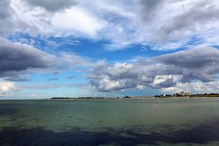 An der Ostsee.