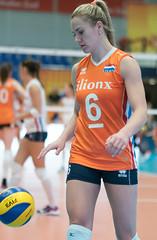 49152265 (roel.ubels) Tags: nederland oranje holland polen poland polska amsterdam sporthallen zuid volleybal volleyball oefenwedstrijd sport topsport 2017