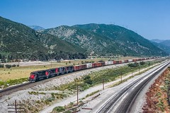 Eastbound Produce (douglilly) Tags: southernpacific devore sd45