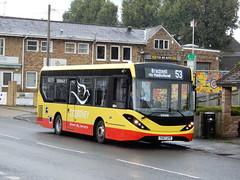Courtney Buses YX67 UYP (Berkshire Bus Pics) Tags: courtney buses yx67uyp alexander dennis enviro 200 mmc burnham