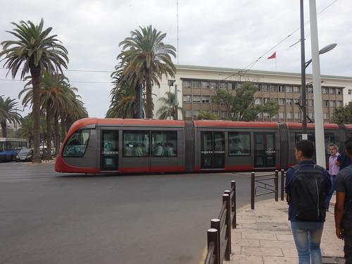 Les Casablancais peuvent aussi se déplacer en Tram !