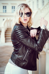 Black Leather Mood by Andreas-Joachim Lins Photography - Model: Viktoria Schott    PLEASE: don't copy/paste group badges and awards to my pictures, that's just spam and I will delete them, thank you