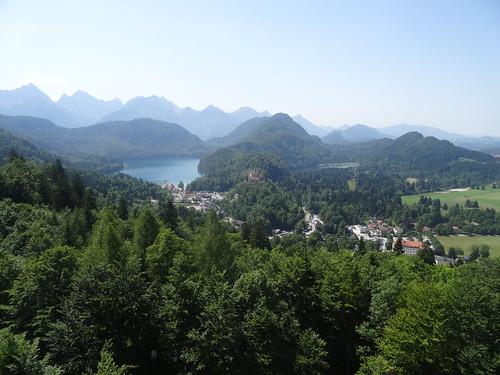 Alpsee & Hohenschwangau Castle
