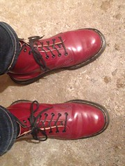 Docs uncovered (Garibaldi McFlurry) Tags: 511 jeans levis levi feet shoes boots docmartens docs
