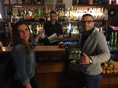 Locals at some bar, Trieste!