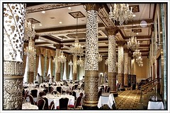 Chicago Illinois  ~ Historic Millennium Knickerbocker Hotel Chicago ~  Dining Room (Onasill ~ Bill Badzo) Tags: magnificent mile coast il chicago illinois historic millennium knickerbocker hotel dining room gold cast iron columns onasill nrhp playboy hugh hefner towers al capone casino penthouse landmark america lodging