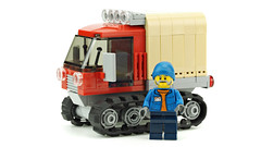 Snowcat (de-marco) Tags: track truck snow lego town city