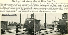 Poling Safety from PE magazine (jsmatlak) Tags: pe pacificelectric railway electric interurban train trolley los angeles california oerm
