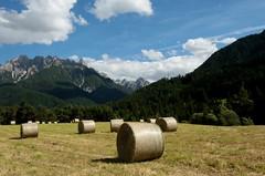 Val Pusteria (annalisabianchetti) Tags: montagne mountains dolomites dolomiti italy trentinoaltoadige clouds nuvole field paesaggio landscape