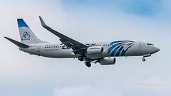 SU-GEH   Boeing 737-800 - EgyptAir (Peter Beljaards) Tags: