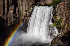 Rainbow Falls at high water - In Explore (speedcenter2001) Tags: sierranevada sierra sierraphile highsierra anseladamswilderness california mountains backpacking backcountry outdoor nature wilderness hiking waterfall rainbowfalls postpile sanjoaquin rainbow spray redsmeadow johnmuirtrail ngc