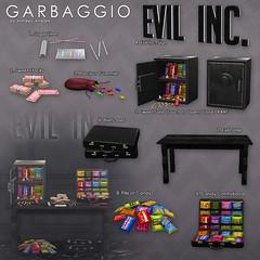 Evil Inc. Candy Contraband (Ashleey Andrew) Tags: garbaggio sl secondlife second life virtual world original mesh gacha halloween candy sweet sweets sugar trick or treat