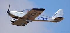 Aerotechnik EV-97 Eurostar G-CBIY Lee on Solent Airfield 2017 (SupaSmokey) Tags: aerotechnik ev97 eurostar gcbiy lee solent airfield 2017