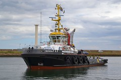 Multratug 4... Blyth 060817 (silvermop) Tags: ship boats ships sea tugboats tugs port river blyth multratug3