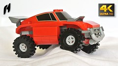 Lego Dakar Rally Car (MOC - 4K) (hajdekr) Tags: lego moc myowncreation car vehicle toy automobile allwheeldrive 4x4 terrain rallyecar special rally buildingblocks brick bricks easy simple simply inspiration tip design dakar dakarrallycar suspension shockabsorber terrainrallyecar