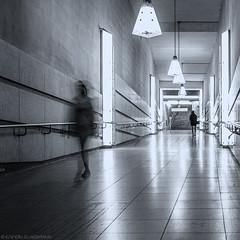I'm walking.... (katrin glaesmann) Tags: münchen munich tube station ubahn metro mvg candidplatz workshop u1 1997 architekturbüroegonkonrad sabinekoschier people street streetlife walking