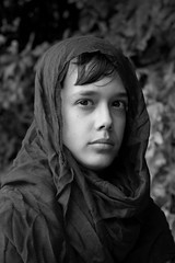 226/365 (Greta Lauren) Tags: 365dayproject 365dayphotoproject canonrebelt3 canonrebel teamcanon canoncommunity brother 2017 august summer outdoors outside blackandwhite portrait male maleportrait femalephotographer girlphotographer teenphotographer scarf artclass artassignment young youth youngphotographer