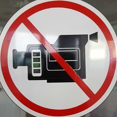 Circled no camera (sq#0609) (Navi-Gator) Tags: squaredcircle circle red nosign camera