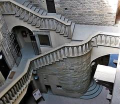POPPI - (Toscana) (cannuccia) Tags: poppi castelli interni scale scalinate dallalto dettagli architettura colonnine grigio challengegamewinner