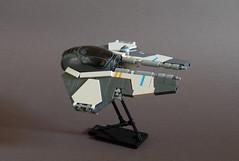 Jedi Interceptor - Variation on a theme. (Sydag) Tags: lego moc starwars eta2actis clonewars episodeiii scifi starfighter spaceship space