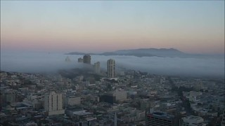 Russian Hill Fog Time Lapse