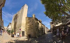Notre Dame des Sablots (tortipede) Tags: sony a58 samyang 8mm fisheye fromraw rawtherapee france frança midi miègjorn occitània holiday aiguesmortes aigasmòrtas camargue