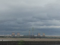 TaM019 New Mersey Crossing and Fiddlers Ferry power station (holymoor) Tags: canal runcorn bridge powerstation
