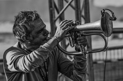 Paolo Fresu (stefanonikon1) Tags: jazz iljazzitalianoperleterredelsisma blackwhite nikon d7000 afs70300vr paolofresu