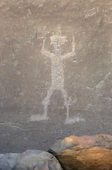 Petroglyph / Chaco Culture NHP (Ron Wolf) Tags: anasazi anthropology archaeology chacoculturenationalhistoricalpark chacoan nationalpark nativeamerican puebloan anthromorph anthropomorph petroglyph rockart newmexico
