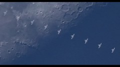 International Space Station Transits Across the Moon During the Day (ePixel Images) Tags: internationalspacestation nasa iss space orbit astronomy astronaut expedition expedition52 mission moon waxinggibbousmoon lunar sky occultation silhouette astrophotography interstellar cosmos universe cosmology spacecraft esa canon canoncollective canonglobal 1dxii canoneos1dxmarkii roscosmos jaxa europeanspaceagency csa canonc200 canoncinemarawlight peggywhitson astronautpeggywhitson
