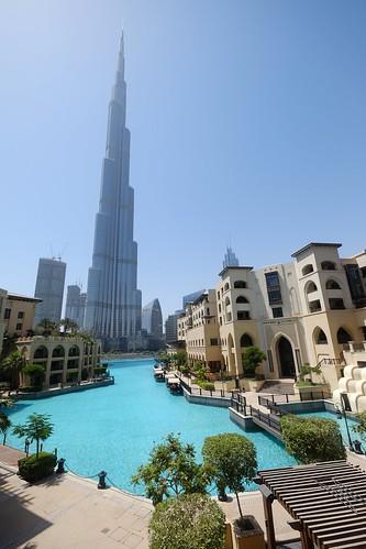 Burj Khalifa and Souk Al Bahar