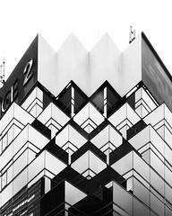 Ikebukuro, Tokyo (Masahiko Kuroki (a.k.a miyabean)) Tags: bw monochrome noiretblanc architecture reflection x30 池袋 東京 explore