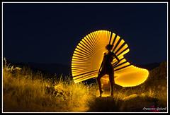 Lightpainting with Sara (torben84) Tags: light long longexposure longexpo lightpainting girl luce lungheesposizioni tube tubi ericpare toscana nikon nikond7200 nikondx d7200 donna tamron tamronlens