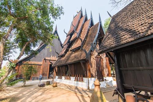 maison noir chiang rai - thailande 8