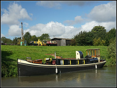 FRIESLAN (Jason 87030) Tags: barge boat cargo dodford canal cut towpath craft vessel history motor weather september 2017 sony ilce nex lens flickr tg sunny reflection clouds image nice grandunioncanal histoy historic holland europe