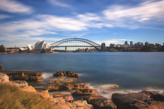 Sydney Harbour (satochappy) Tags: harbour sydney sydneyharbour sydneyharbourbridge sydneyoperahouse mrsmacquariespoint nd