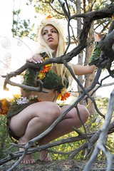 Model: Jessica (Limit Breaker Media) Tags: fairy woodland pixie leaf nature mothernature flowers flowercrown blonde wings fairywings wyoming america cutie prettygirl photoshoot trees model cosplay