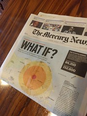 What If (earthdog) Tags: 2017 word newspaper headline mercnews lgenexus5x lge nexus 5x androidapp cameraphone moblog map