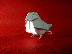 Little bird- Dai Watanabe (KiênnXinhh's) Tags: origami bird little miniature dai watanabe paper art craft mammal animal beatiful explore photo obnoxious consistent wildlife photography universal creature