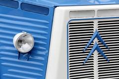 Citroën H Van # 2 (just.Luc) Tags: citroën camionette van bestelwagen lieferwagen transporter headlight phare koplamp truck france frankrijk frankreich frança francia französisch frans français french voertuig véhicule europa europe blue blauw blau azul bleu metal metaal