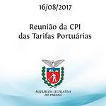Reunião da CPI das Tarifas Portuárias