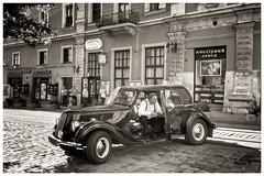 2017. Lviv. Ukraine (bobobahmat) Tags: driver man men car street town ukraine lviv life city monochrome mono blacknwhite blackwhite blackandwhite bw bnw white black