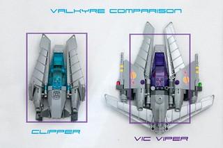 Clipper vs Valkyrie-VV