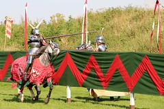 The Joust (Crisp-13) Tags: knight joust grand medieval old sarum oldsarum salisbury wiltshire horse armour english heritage